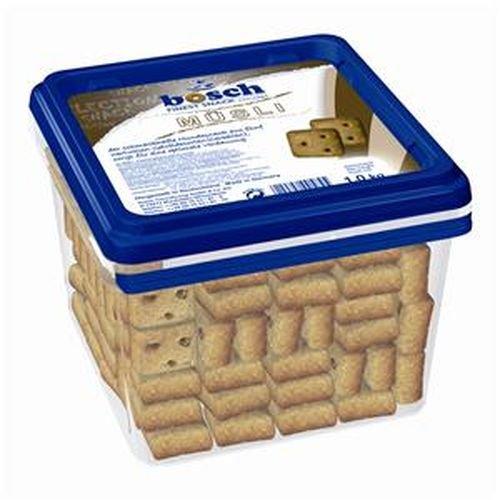bosch Finest Snack Concept Müsli | Belohnungssnack für Hunde aus 5 wertvollen Getreidesorten , 4 x 1 kg