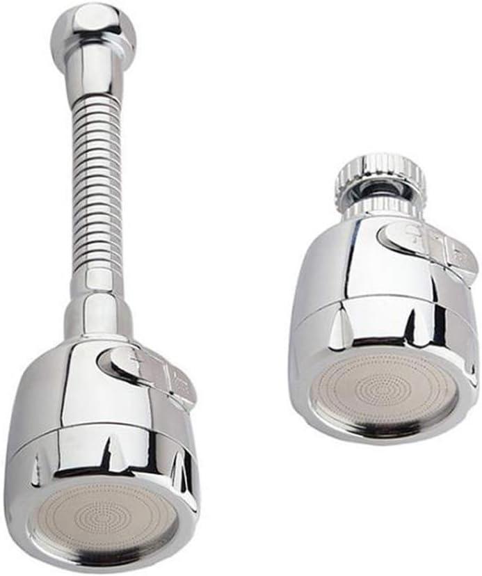 Aireador de Grifo,2 piezas Adaptador Grifo per Cocina,Filtro Difusor Atomizador Llave Aireador Grifo,Filtro de Ahorro de Agua con Manguera Larga