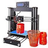 Impresora 3D, GUCOCO Mejorar Prusa I3 Pantalla LCD de bricolaje Auto-ensamblaje de Kit de impresoras...