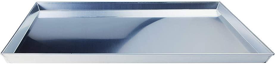 (X in)–Agnelli Rectangular Baking Tray 3003Aluminium Alloy, Height 3cm Silver–Coloured 40cm x 30cm