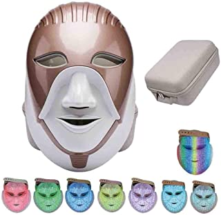 Light Therapy Mask Beauty LED 7 Color Photon Wrinkle Removal Anti Aging Whitening Skin Rejuvenation Facial Skin Care Mask