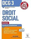 DCG 3 Droit social - Manuel - Réforme 2019-2020 - Réforme Expertise comptable 2019-2020 (2019-2020)