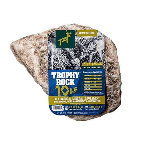 TROPHY ROCK Redmond All-Natural Mineral Rock/Salt Lick, Attract Deer and Big Game… (10 LB)
