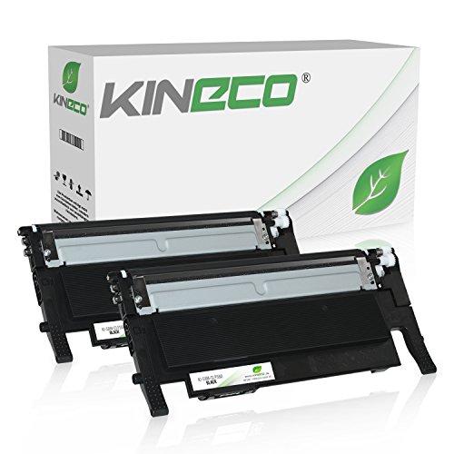 2 Toner kompatibel mit Samsung CLT-K406S CLP-360 N ND Series 365 W CLX-3300 3305 FN FW W Series Xpress C410 C460 FW W Series - Schwarz je 1.500 Seiten
