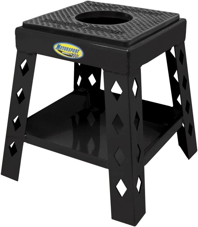 Motorsport In a popularity Products 94-4012 Minneapolis Mall Black Mini Stand Super Moto