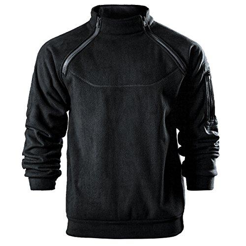 Free Soldier Fleece-Pullover aus Thermo-Plüschstoff, wärmende Oberbekleidung für den Winter S schwarz