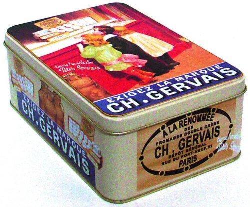boite a sucre metal 19x13x7 cm pub retro charles gervais