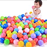 Yinuneronsty 1 Bolsa 100 Piezas 7 Cm Ocean Ball Color Plástico Suave Niños Diversión Natación Pit Toy Ball