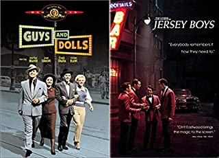 Hollywood Sing'n + Dancin' Ultimate Classics 2-DVD Bundle - Jersey Boys & Guys And Dolls (Musical Collection DVD Collection)