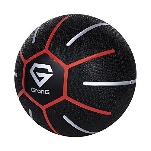 GronG(グロング) メディシンボール 3kg トレーニングマニュアル付き(島袋好一トレーナー監修)