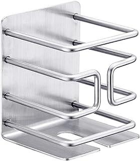 pour salle de bain Support de rangement de Douche Panier Organisateur auto adhésif imperméable d'acier inoxydable pour l'é...