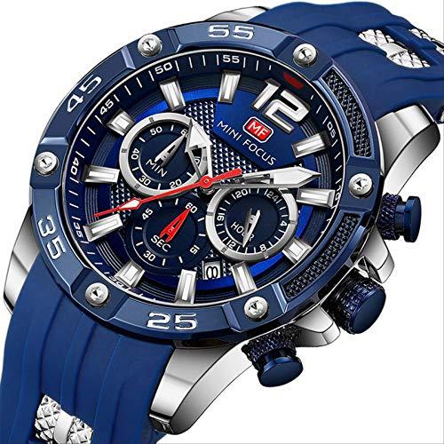 Miwaimao Reloj De Cuarzo para Hombre Richard Mille Student Trend Reloj Mecánico Automático