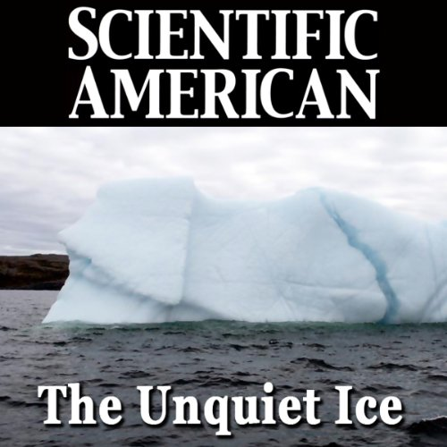 The Unquiet Ice audiobook cover art