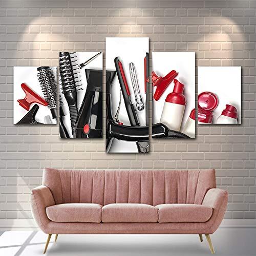 Hllhpc Krultang, canvas, HD-print, 5-delige set