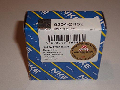 Lager NKE AUSTRIA 6204-2RS2 NKE