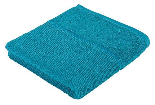 frottana Pearl Handtuch 50 x 100 cm aus 100% Baumwolle, ocean