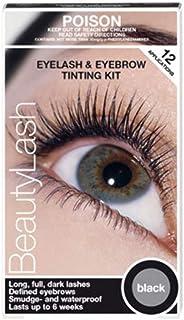 Refectocil Eyelash Eyebrow Beauty Lash Eyelash Coloration Set Tint Kit BLACK