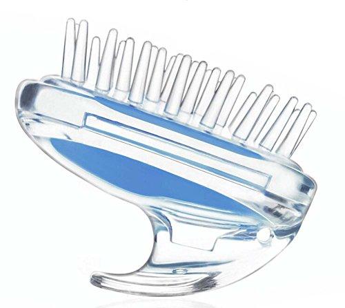 Perte BLEU Prevent cheveux peigne en plastique à coussin d'air Peigne Massage Pe