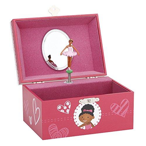 Musical Jewelry box, Music jewel Storage Box in Oval shape, Unicorn design, Beautiful Dreamer Tune (6'x 4.75'x 3.3')