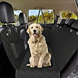 Active Pets Dog Seat Cover with Mesh Window, 100% Waterproof Durable Dog Hammock Car Seat Covers for Dogs Non Slip Protection Against Dirt & Pet Fur, Dog Car Seat Cover for Back Seat for Cars & SUVs