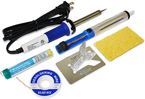 Elenco  Soldering Starter Kit with Desoldering Wick and Pump [ Replaces ST-12 ] Model Kit