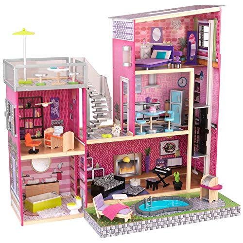 KidKraft 65833 Mansion Dollhouse for 12