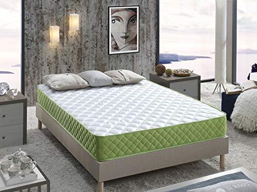 Matratze Fenix 180X200x15cm. Memory Foam Graphene, Therapeutisch Anti-Stress, 15cm Höhe, H3, 8 Zonen, Eco Friendly.