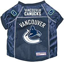 Vancouver Canucks Premium Pet Dog Hockey Jersey w/ Name Tag SMALL