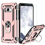 LeYi Galaxy S8 Plus Case with Ring Holder,Full Body