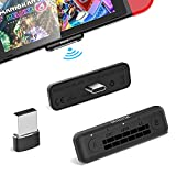 1Mii MiiLink Bluetooth Adapter for Nintendo Switch/PC/PS5/Laptop, Wireless Audio Bluetooth 5.0 Transmitter aptX Low Latency for Bluetooth Headphones Earbuds Speakers Only