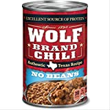 Wolf Brand Chili Without Beans, Packed with Protein, 24 Ounce