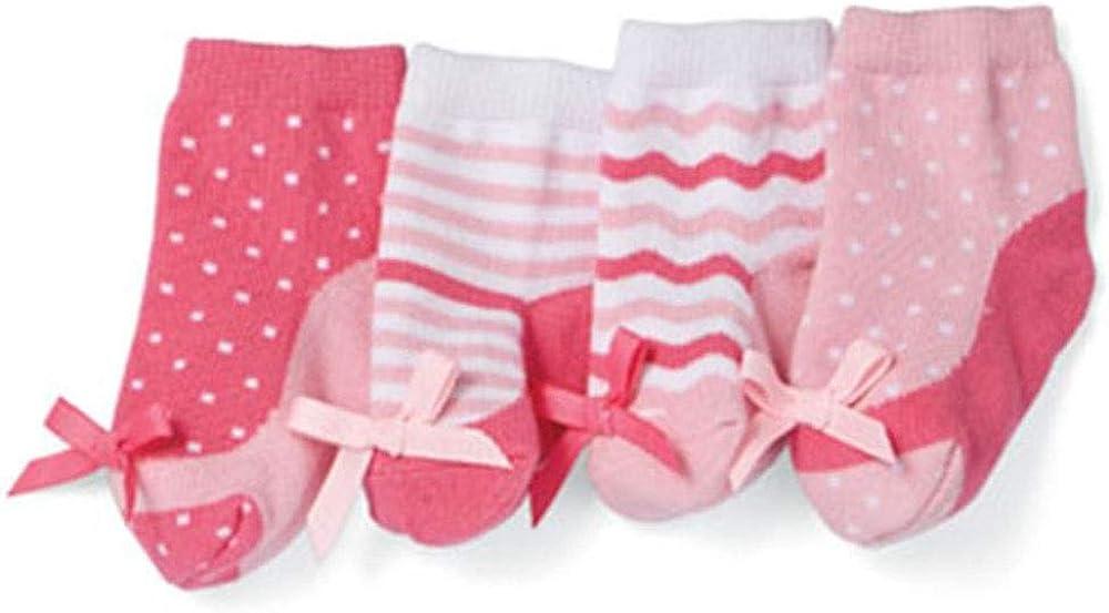 Mud Pie Baby Girls Peep Toe & Maryjane Sock Set