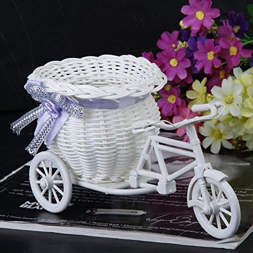 NA Vase Handgemachte Blumenvase Fahrrad/Fahrrad Blumenkorb Home Dekoration Blumenvase Töpfe Geschenk I026174