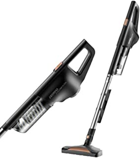 Household Vacuum Cleaner, Light and High Power 600W Dry and Wet Handheld Putter 2 in 1 Bagless Vertical Vacuum Cleaner