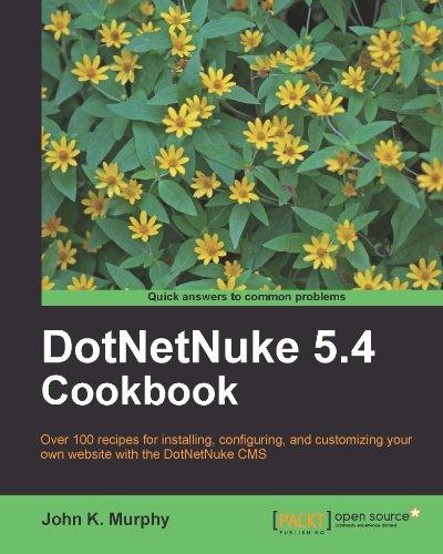DotNetNuke 5.4 Cookbook (English Edition)