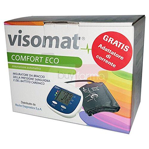 Roche Visomat Comfort Eco Plus-Medidor de presión de brazo + fuente de alimentación