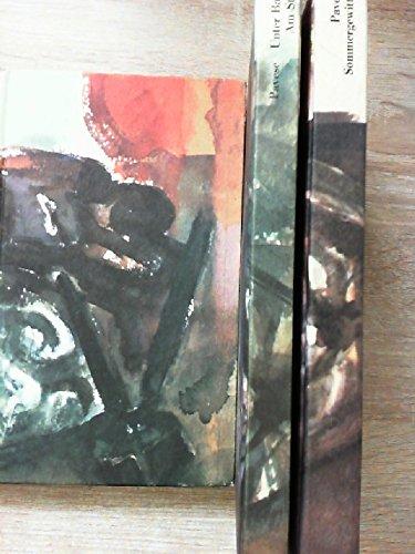 Unter Bauern. Am Strand. [Zwei Romane]. Sommergewitter. [Erzählungen]. Die Lederjacke. [Erzählungen 2]. Aus dem Italienischen von Arianna Giaschi und Charlotte Birnbaum. Vollständig in drei Bänden. Mit einer bibliograhischen Notiz am Schluß des 3. Bandes.