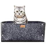PiuPet® Premium Katzenbett inkl. Kissen