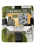 Halo Infinite Master Chief Plush Blanket 40' x 50' Fleece Throw Soft & Cozy