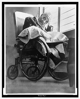 HistoricalFindings Photo: Pedro Albizu Campos,1891-1965,in Wheelchair at Hospital