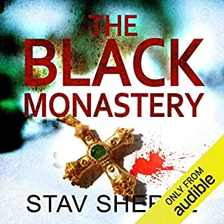 The Black Monastery audiobook cover art