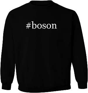 #boson - Men's Hashtag Pullover Crewneck Sweatshirt