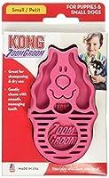 Kong(コング) ラバーブラシ 犬用 S ピンク