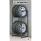 キャプテンスタッグ(CAPTAIN STAG) タイヤガレージ 普通自動車用 M-9639