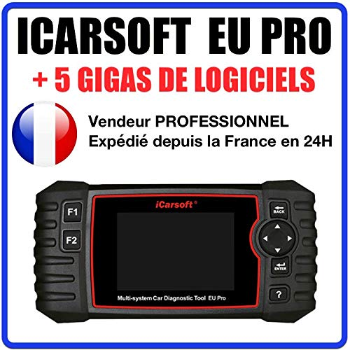 Valise Diagnostic Auto MULTIMARQUE OBD2 100% Francais ICARSOFT EU Pro
