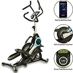 Best elliptical under 500 includes the ProGear 9900 High Intensity-Interval Training (HIIT) Bluetooth Smart Elliptical Trainer