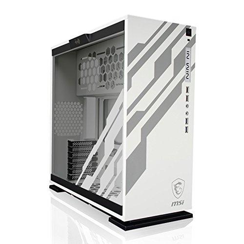 In Win 303-MSI Dragon Edition Midi-Tower Bianco vane portacomputer