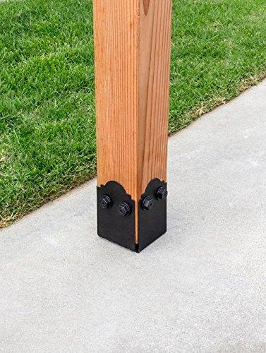 Simpson APB66DSP Strong-Tie - Base para postes (6 x 6, con platos laterales decorativos): Amazon.es: Bricolaje y herramientas