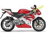 Motocicletta Carena RS125 Per Aprilia RS-125 2006 2007 2008 2009 2010 2011 RS125 R S 125 RS 125 Carenature Bianco Rosso Per Carrozzeria Kit Aftermarket (a iniezione)