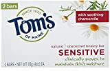 Tom's of Maine Sensitive Natural Beauty Bar Soap, Unscented with...